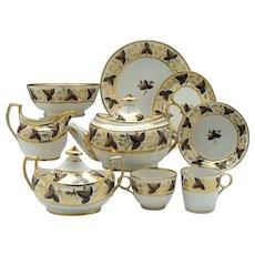 Chamberlains Worcester Pattern 379 Tea Service c1810