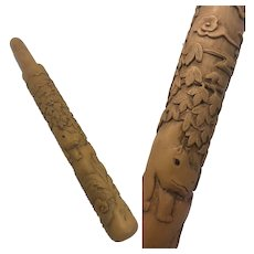 Cigar case - Wood - China - Ca. 1900