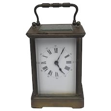 Carriage clock - Bronze - Early 20th century