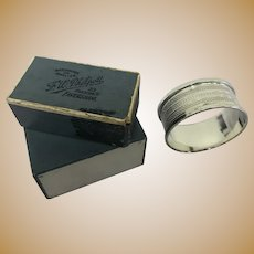 Napkin ring - .925 silver - United Kingdom - 1947