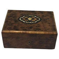 Box - Brass, Rootwood - Napoleon III