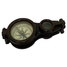 Compass with magnifying glass - Bakelite - Circa 1930