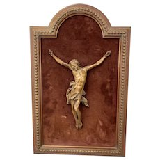 Statue, Corpus Christi, In Frame - Wood - Circa 1860