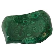 Scale for jewelry / soap dish - Malachite - Australia - 1970-1979