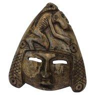 Asian soapstone mask - Asia - Ca. 1950