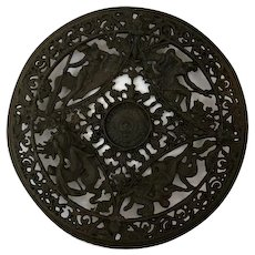 Victorian wall plaque - Cast iron - Approx. 1910