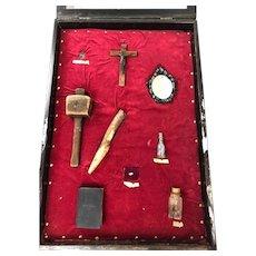 Vampire Kit in display - begin 20th century -
