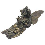 Bronze statue: Elf
