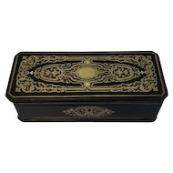 Napoleon III boulle glove box - France - Ca. 1880