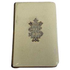The Book of Common Prayer - 1924 -silver