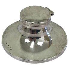 Silver inkwell - - 19th century - Birmingham (UK)