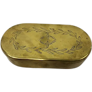 Tobacco box - Copper - Early 19th century