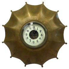 Bronze umbrella clock - Artistic - Bronze - Approx. 1940