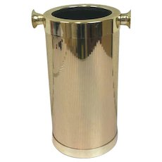 BMF - wine / champagne cooler - gold plated - West Germany, Ca. 1970