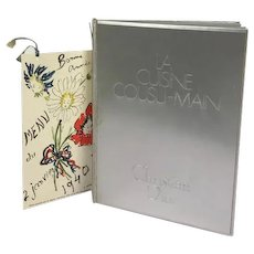 La Cuisine Cousu-Main Book by Christian Dior with illustrations by Rene Gruau