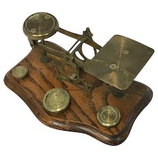 """Letters scale """"Letter scale"""" - England - Approx. 1900"""