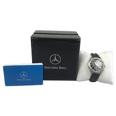 Mercedes Benz watch with box and papers