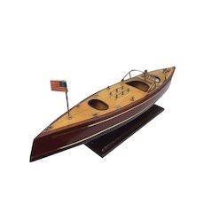 Scale model of a Riva boat (63 cm) - late 20th century