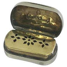 Vinaigrette of sterling silver - Cocks & Bettridge - 1806