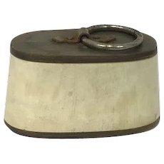 Snuffbox of horn - England - Ca. 1800 - 1820