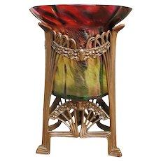Superb Art Glass Vase ff111