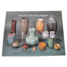 David Rago's and Gus Bostrom's Arts & Crafts in Los Angeles Catalog c15
