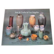 David Rago's and Gus Bostrom's Arts & Crafts in Los Angeles Catalog c15
