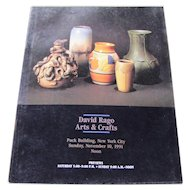 David Rago Arts & Crafts Catalog c16