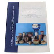 David Rago presents Roseville/Zanesville Pottery Auction Catalog c25