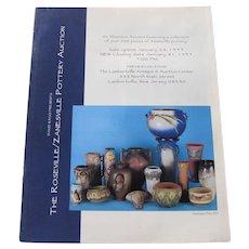 David Rago presents Roseville/Zanesville Pottery Auction Catalog c25