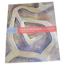 Rago Catalog of Post-war and Contemporary Art featuring Works from Lydia Winston Malbin c41