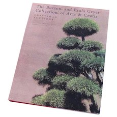 The Burton & Paula Geyer Collection of Arts & Crafts Craftsman Auction Catalog c43 HARDCOVER