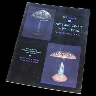 David Rago Arts & Crafts in New York Catalog c56