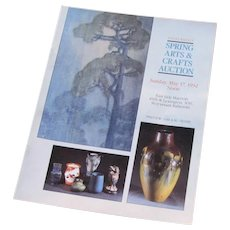 David Rago's Spring Arts & Crafts Catalog c59