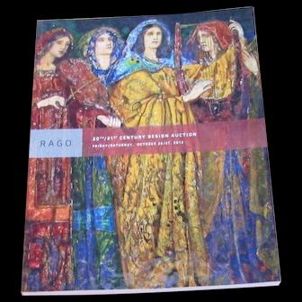 Rago Catalog of 20th/21th Century Design Auction  c60