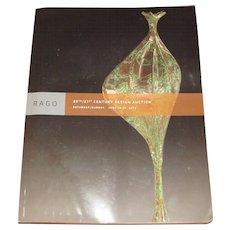 Rago Catalog of 20th/21th Century Items  c7
