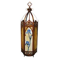 Antique Arts & Crafts Light Fixture f6777