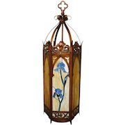 Antique Arts & Crafts Light Fixture f6777