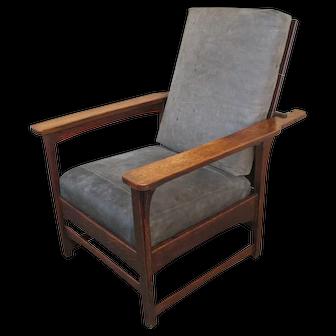 Antique Lifetime Morris Chair f719