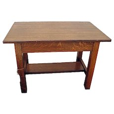 Antique Limbert Library Table f91_Table