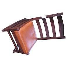 Superb Early Gustav Stickley Rocking Chair  f9746