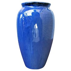 Antique Blue Fulper Vase f9841