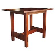 Antique Gustav Stickley Lunch Table   ff519