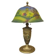 Antique American Phoenix Table Lamp  (Stickley Era)  i708