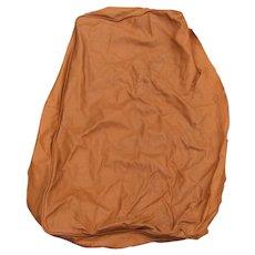 Vintage Tan Love Seat Leather  le21
