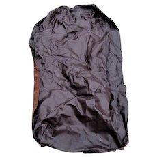 Vintage Dark Brown Settle/ Sofa Leather  le22