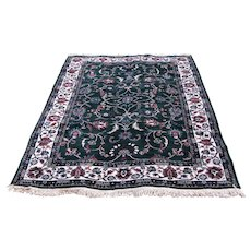 New Machine Rug in Persian Design  r5  FREE SHIPPING
