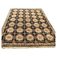 Antique Anglo-Persian Rug  r7269