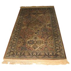Superb Antique Anglo-Persian Wilton Rug  r8001 (Arts & Crafts Design)