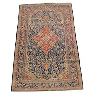 Antique Persian Kashan Rug  r8051